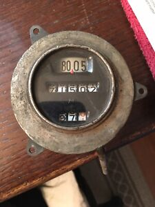 Vintage Rare Ac Spark Plug Co Speedometer Hot Rat Rod Model A Roadster Car Auto