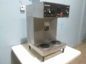 bunn 3s Mech Sf H d Commercial Dual Coffee Brewer Machine W Hot Water Tap
