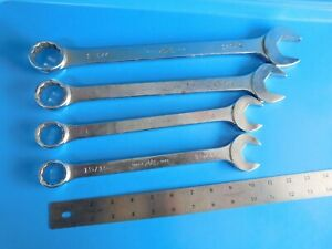 Used Mac Tools 15 16 1 1 1 8 1 1 4 In Wrench s Cw Series Lot Of 4