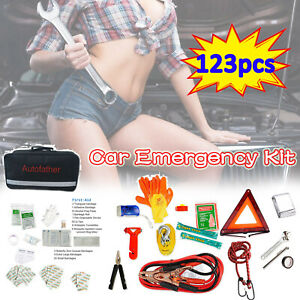 Roadside Emergency Kits Auto Set Car Tool Bag Vehicle Safety First Aid Supplies