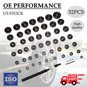 52 Piece Custom Bush Bearing And Seal Driver Set W Blow Molded Carrying Case