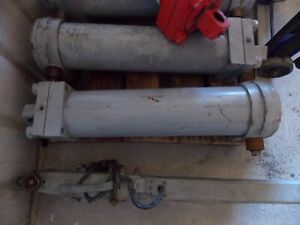 Large Hydraulic Cylinder Boom Utility Truck Heavy Equipment 34x11x12 Overall