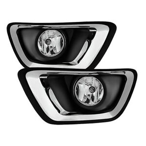 15 17 Chevy Colorado Fog Lights Bumper Lamps W Switch Bulbs Relay Wiring
