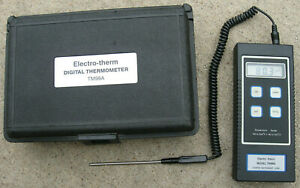 Electro therm Digital Thermometer Tm99a With Probe And Case