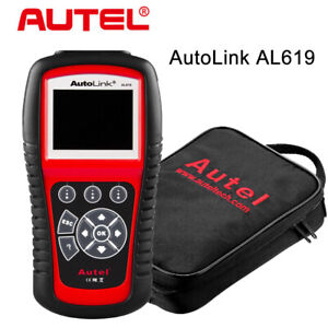 Autel Al619 Auto Scan Obdii Diagnostic Scanner Code Reader Tool Airbag Srs Abs