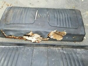 1970 71 72 Chevelle Cutlass Gto Lemans 442 Rear Back Seat Coupe