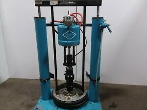 Ir Johnstone 65 1 55 Gallon Air Pneumatic Drum Barrel Pump Unloader Tested