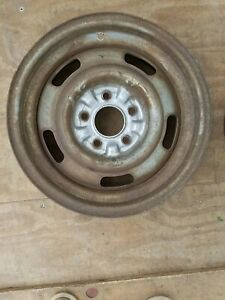 1967 Chevy Corvette Rally Wheel Dc Code 15x6 Ralley Rim Ncrs 67 2