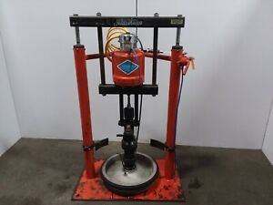 Ir Johnstone 42 1 55 Gallon Air Pneumatic Drum Barrel Pump Unloader Tested