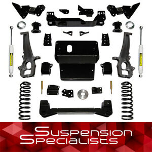 Superlift 6 Lift Kit W Shocks For 2009 2011 Dodge Ram 1500 4wd
