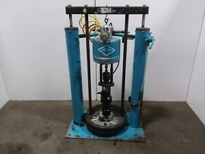 143ir Johnstone 65 1 55 Gallon Air Pneumatic Drum Barrel Pump Unloader Tested