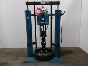 Ir Johnstone 65 1 55 Gallon Air Pneumatic Drum Barrel Pump Unloader Tessted