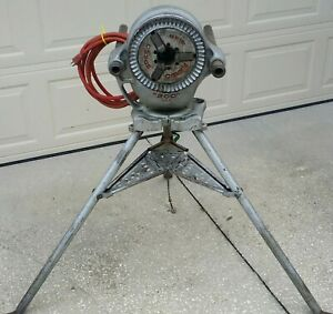 Ridgid 200 Pipe Threader W Tristand Great Cond Fundraiser Free Pet Coffin