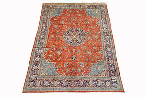 10x13 Persian Mahal Sarouq Antique Hand Knotted Oriental Wool Rug 9 8 X 13 9