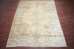 Vintage 12x15 Persian Kerma Area Rug 1970s Hand Knotted Wool Carpet 11 8 X 14 9