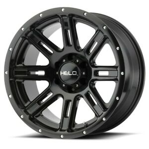 18 Inch 5 Lug 5x150 Black Lifted Wheels 18x9 0mm 4 Rims Fits Tundra