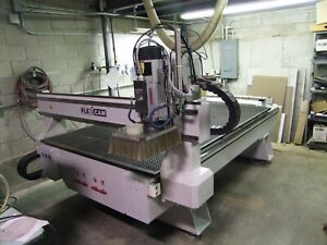 Flexicam Stealth 1525 Cnc Router With Tool Changer And High Pressure Vac Table