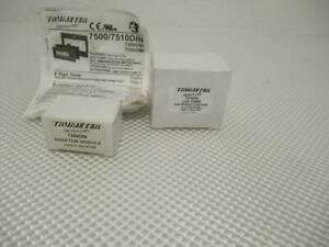 One New Trumeter 8 Digit Timer 7510din And Adaptor Module 7250din