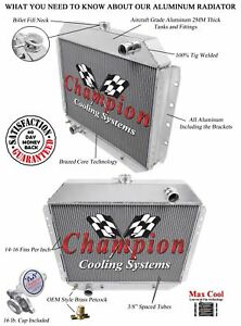 4 Row Performance Champion Radiator For 1968 1979 Ford Truck V8 Engine
