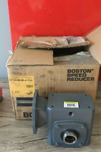 Boston Gear 700 Series Speed Reducer 1 95 Input 20 1 Ratio Hf724 20 b5 h p23