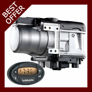 Webasto Thermo Top Evo 5 Diesel 12v With Mounting Kit Oval 7day Timer 1533