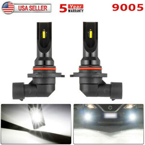 160w 9005 Hb3 9145 Csp Led Fog Light Bulb 6000k Fit For 2000 2018 Honda Accord