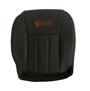 2001 Jeep Grand Cherokee Limited Driver Bottom Leather Oem Seat Cover Dark Gray