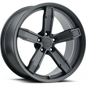 4 20x11 Black Wheel Factory Reproductions Z10 Iroc Z Camaro Wheels 5x120 43