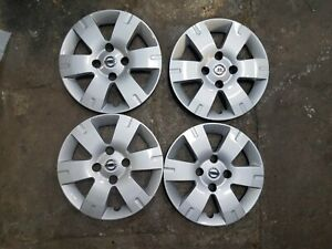New Set 2007 2008 2009 2010 2011 2012 Sentra 15 Hubcaps Wheel Covers 53073