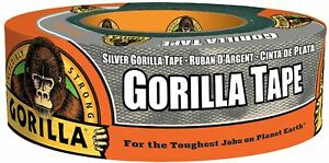 Gorilla Tape Silver Duct Tape 1 88 X 35 Yd Silver bulk Pack Of 18