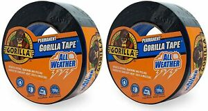 Gorilla All Weather Outdoor Waterproof Duct Tape Uv And Temperature Resistan