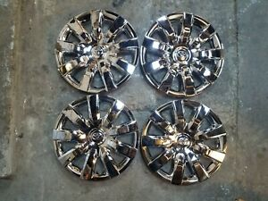 Brand New Set 2004 2005 2006 Camry Hubcaps 15 Wheel Covers 61136 Chrome