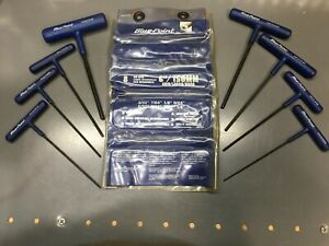 Blue Point Awcg1600b Sae 3 32 1 4 T Shaped Hex Wrench Set Usa