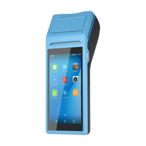 Android6 0 Wireless Smart Pda Printer Barcode Scanner Handheld Pos Terminal T7c6