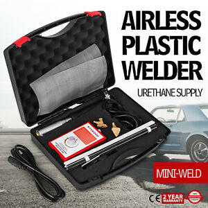 Airless Plastic Welder Kit 5700ht Mini Weld Model 7 With Case 110 Volts