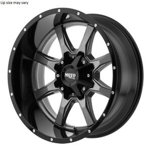 18 Inch 6 Lug 6x120 6x139 7 6x5 5 Grey N Black 1500 Wheels 18x9 18mm 4 Rims