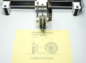 Drawing Writing Machine 2axis Cnc Xy Plotter Signature Tested An Fully Assembled