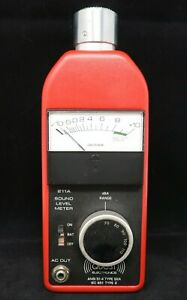 Quest Electronics Permissible Sound Level Meter 211a fs