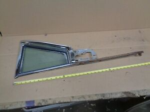 1958 Olds Super 88 4 Door Ht Right Front Vent Window Assembly Frame Tint Oem