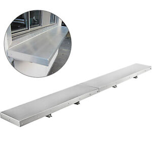 8 Foot Shelf For Concession Window Tabletop Foldable Food Truck Accessories