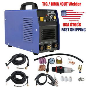 3 In 1 Ct312 Tig Mma Air Plasma Cutter Welder Welding Torch Combo Machine 3500w