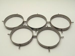 Robvon 6 Sch 160 A109 Welding Backing Ring Lot Of 5