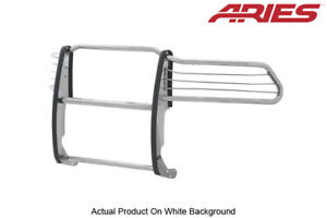 10 19 Dodge Ram 1500 Grille Brush Guard Front Polished Stainless Steel Aries