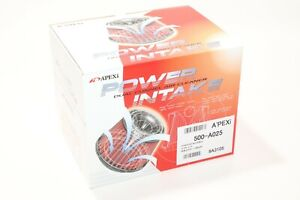 Apexi 500 a025 Power Intake 160mm Air Filter Universal Fit 80mm 3 15 Inlet