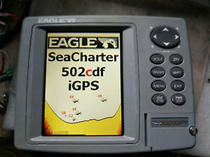EAGLE  SeaCharter 502cdf iGPS  Fish Finder(GPS in side)