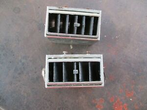 66 67 Coronet Left Right Lower Dash A c Vents Oem Pair 2