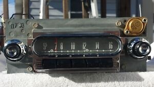 Ford Car Radio Model 14mf Serviced And In Good Working Order Early 1960 S