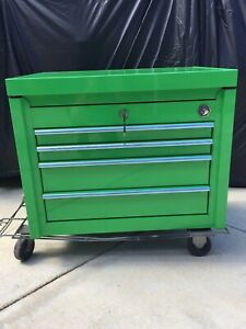 Matco Tools 4 drawer Top Chest Tool Storage 4122tc In Screaming Green