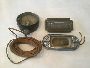 Teleoptic Car Arrow Turn Signal Light Housing Art Deco Ford Chevy Automobile