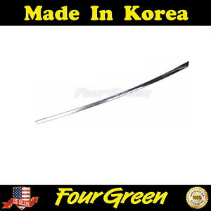 Front Right Passenger Upper Door Molding Chrome For Kia Optima 2011 2015